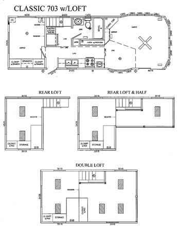 Breckenridge park model trailer floor plans thefloors co for Loft floorplans